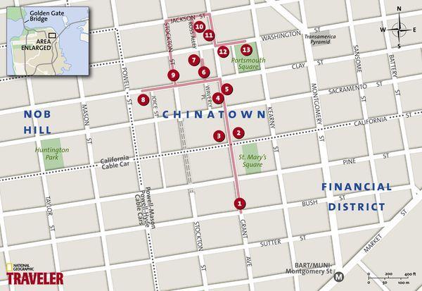 San Francisco Walking Tour: Chinatown   Must See Places   San