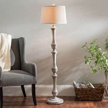 Hadley Gray Floor Lamp Floor Lamp Grey Wooden Floor Lamps Grey Flooring