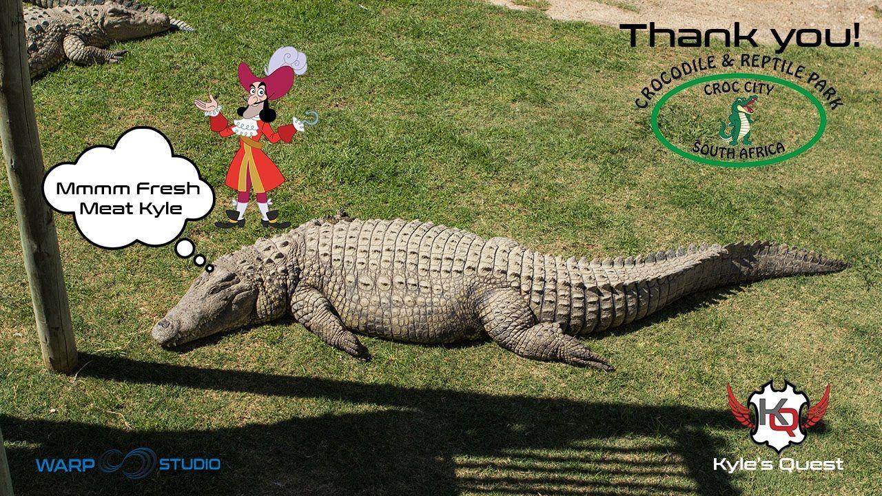 e725e1eb13 Kyle s Quest EP25 - Kyle and some Crocodiles