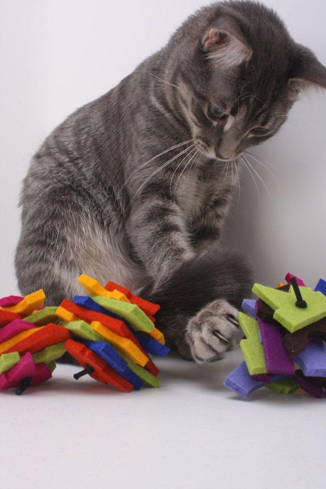Vilten kattenspeeltjes