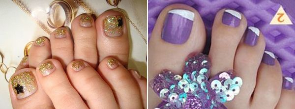 Feet nail designs nail designs with gems pinterest nail feet nail designs prinsesfo Choice Image