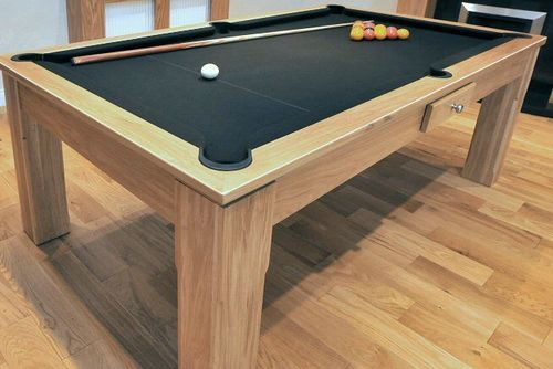 Captivating Contemporary Wood Pool Table