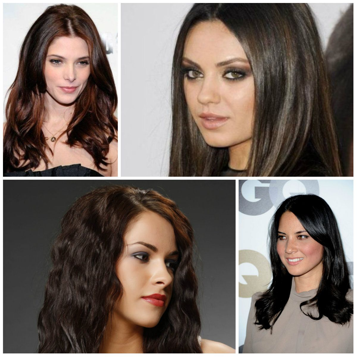 Dark Hair Color Ideas To Try In 2017 Haircuts And Hairstyles For Colors Trends Long Short Medium