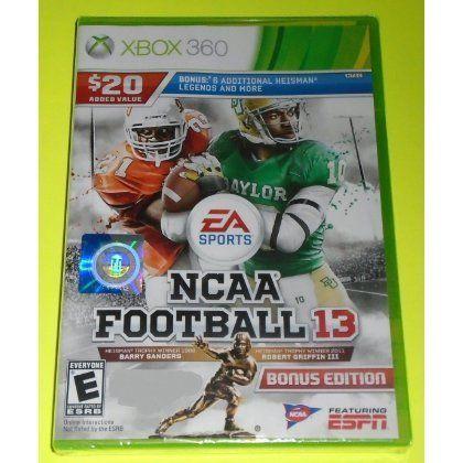 Ncaa Football 13 Xbox 360 Xbox 360 Bonus Edition By Ea Sports