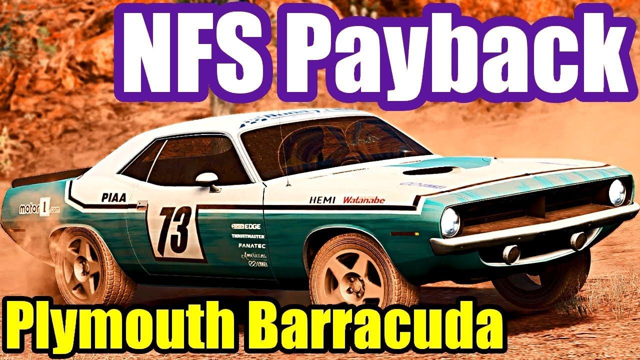 Plymouth Barracuda Offroad Need For Speed Payback 32 Plymouth