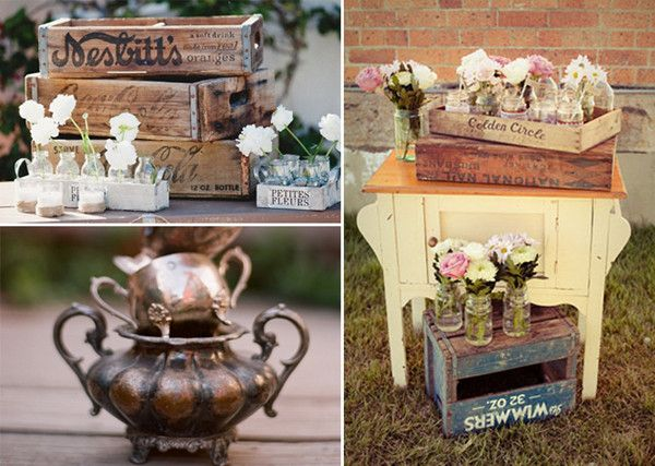 15 Tips To Plan A Perfect Vintage Wedding Weddings DecorationsRetro