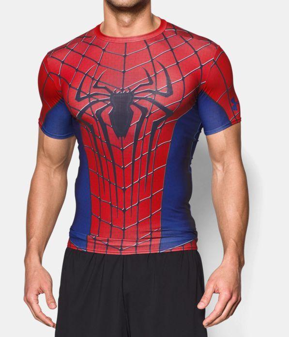 Supervisar Perforar Documento  Men's Under Armour® Alter Ego Spider-Man Compression Shirt, Red, Front |  Compression sportswear, Compression shirt, Mens sportswear