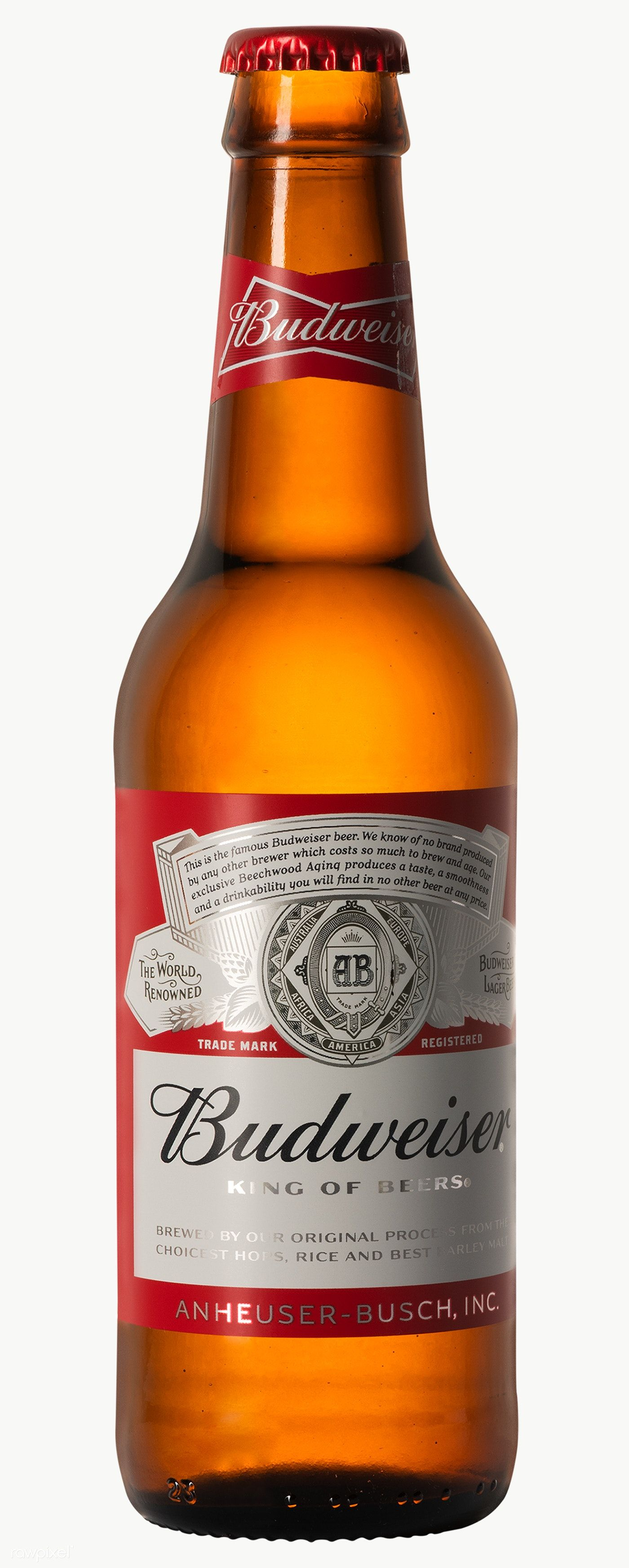 Budweiser King Of Beers In A Glass Bottle January 29 2020 Bangkok Thailand Free Image By Rawpixel Com Jira Budweiser Beer Budweiser Beer