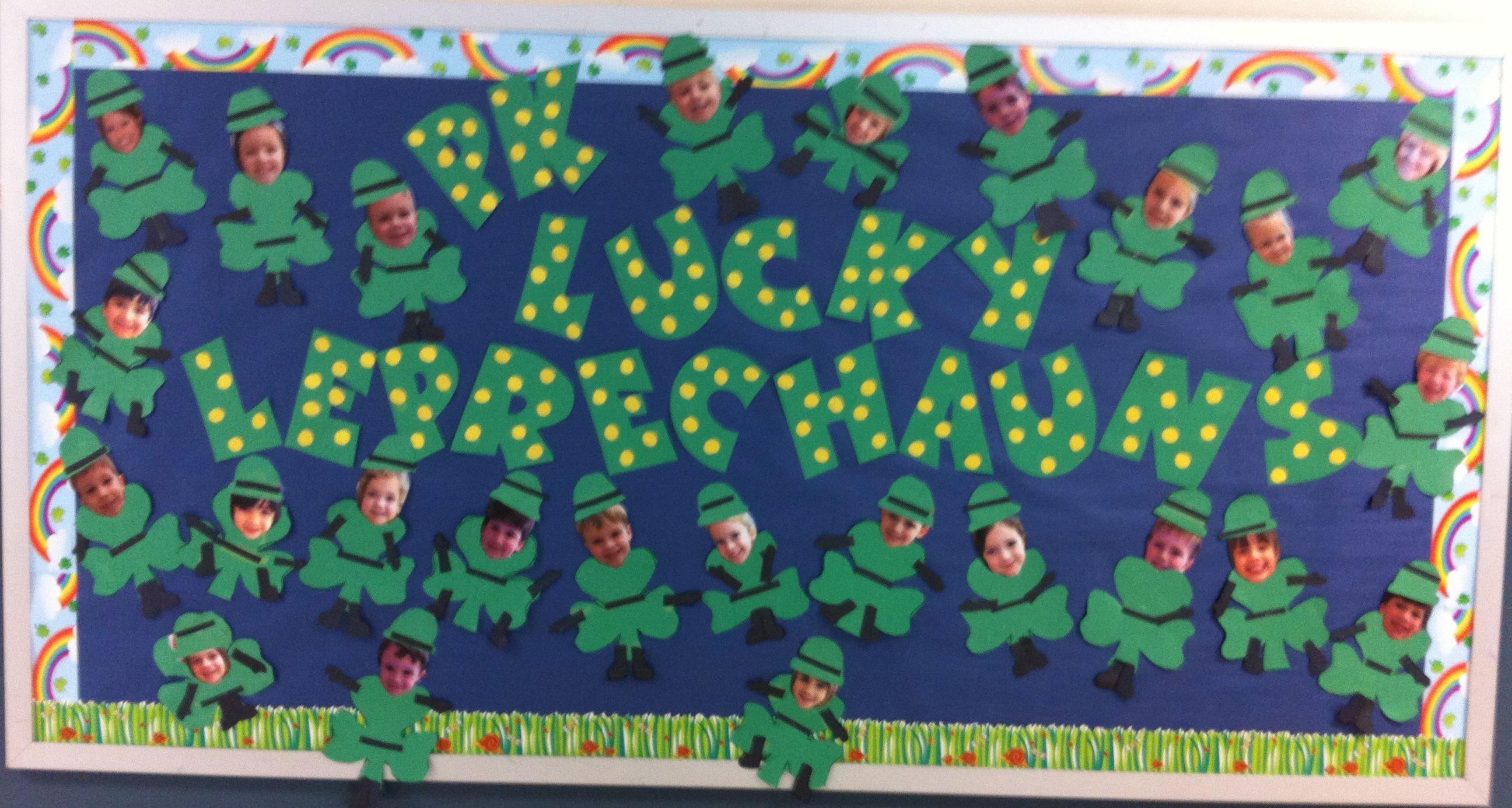 March Bulletin Board Ideas Preschool Cute766