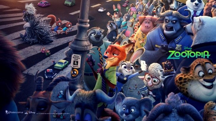 Download Zootopia Wallpaper Animals Hd Movie 2016 1920x1080 Zootopia Animacion Disney Arte De Comics
