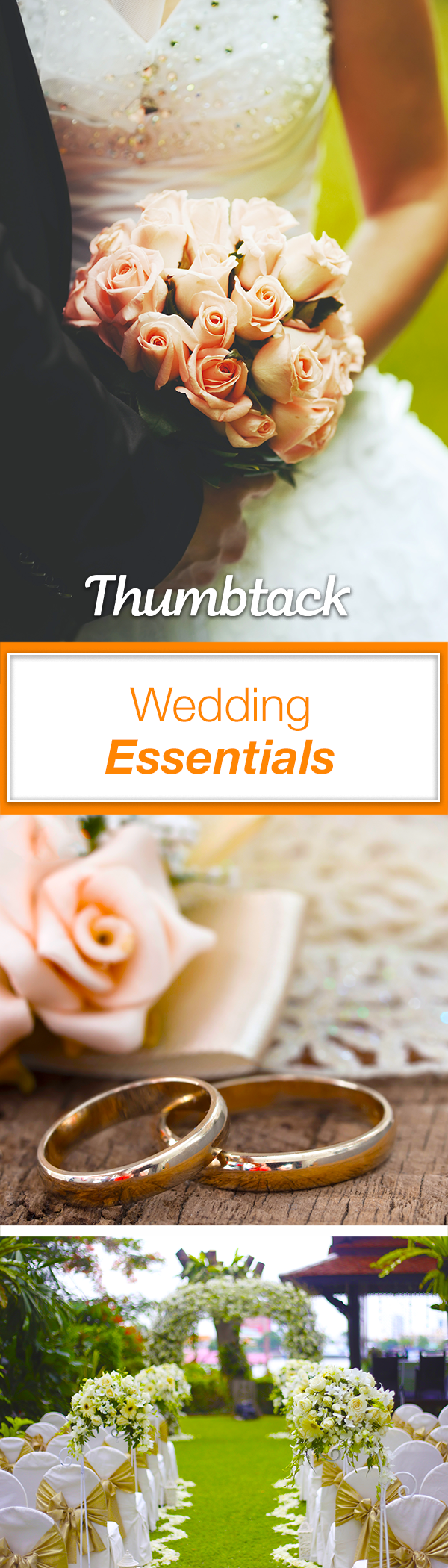 Thumbtack Accomplish Your Personal Projects Wedding Essentials Plan Your Wedding Wedding