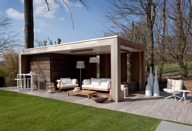Notices Pool Houses Modern Garden Patio
