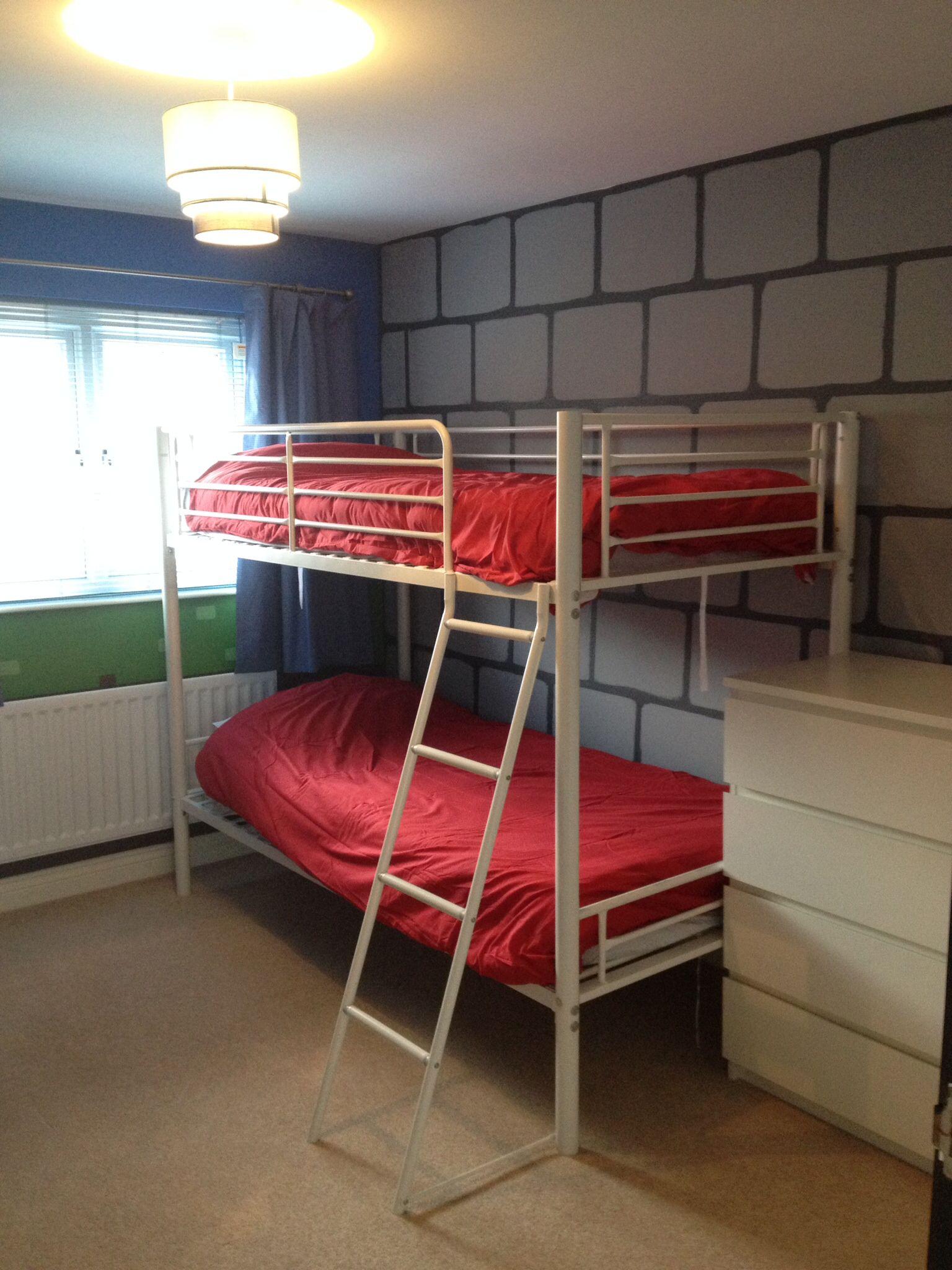 Minecraft real life bedroom | Boys bedrooms, Bedroom ...