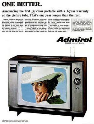 Ebony tube tv
