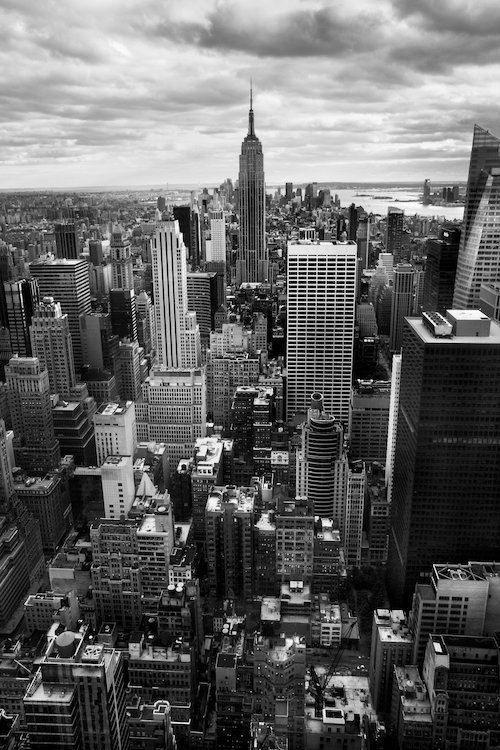 New York City Wall Art New York Skyline New York City Poster Manhattan Nyc Black White Canvas Print Cityscape Downtown New York Photo In 2021 New York Landscape New York