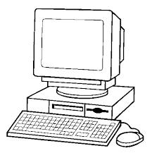 Resultado De Imagen Para Imágenes De Computadora Para Colorear