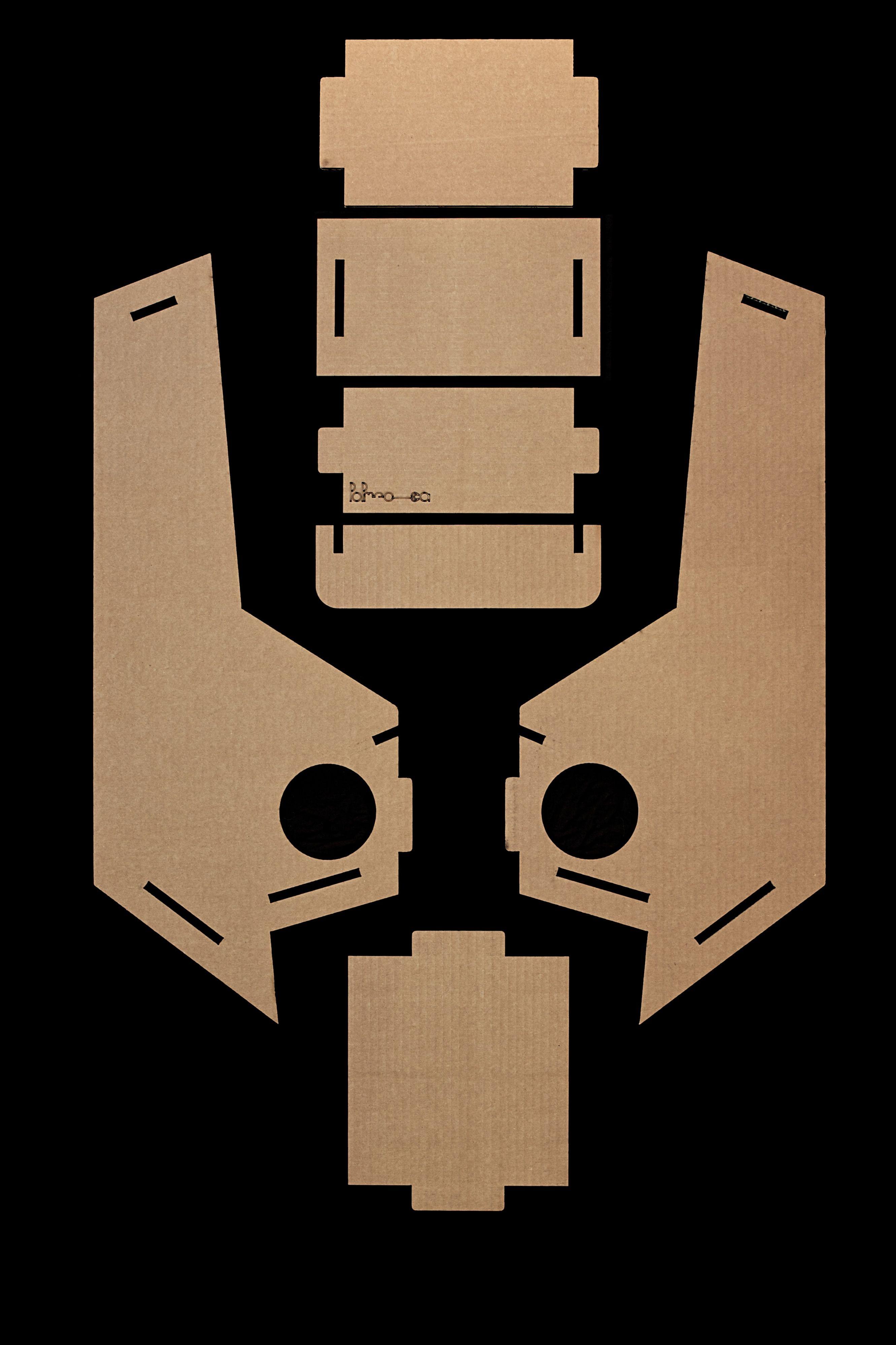 Gioco o test di rorschach cardboard furniture paper crafts design crafts - Test di rorschach tavola 1 ...