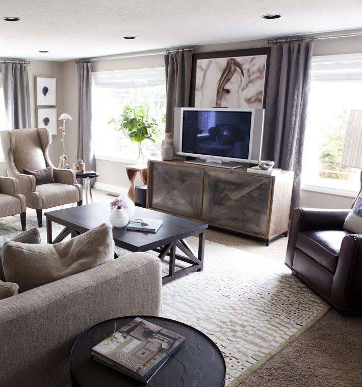 Show N Tell Jessica S Family Room Alice Lane Purple Living Room Living Room Grey Home Decor