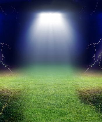 Grassy Field Lightning Printed Backdrop Backdrop Express Background For Photography Soccer Backgrounds Softball Photography