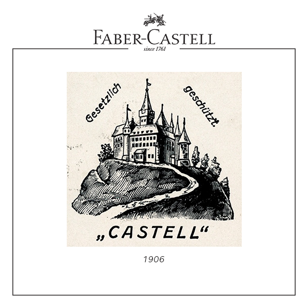 faber-castell logo in 1906