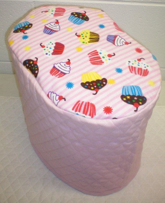 Pink Quilted Cupcake Cover for Keurig K10 B31 Mini Plus Coffee Maker