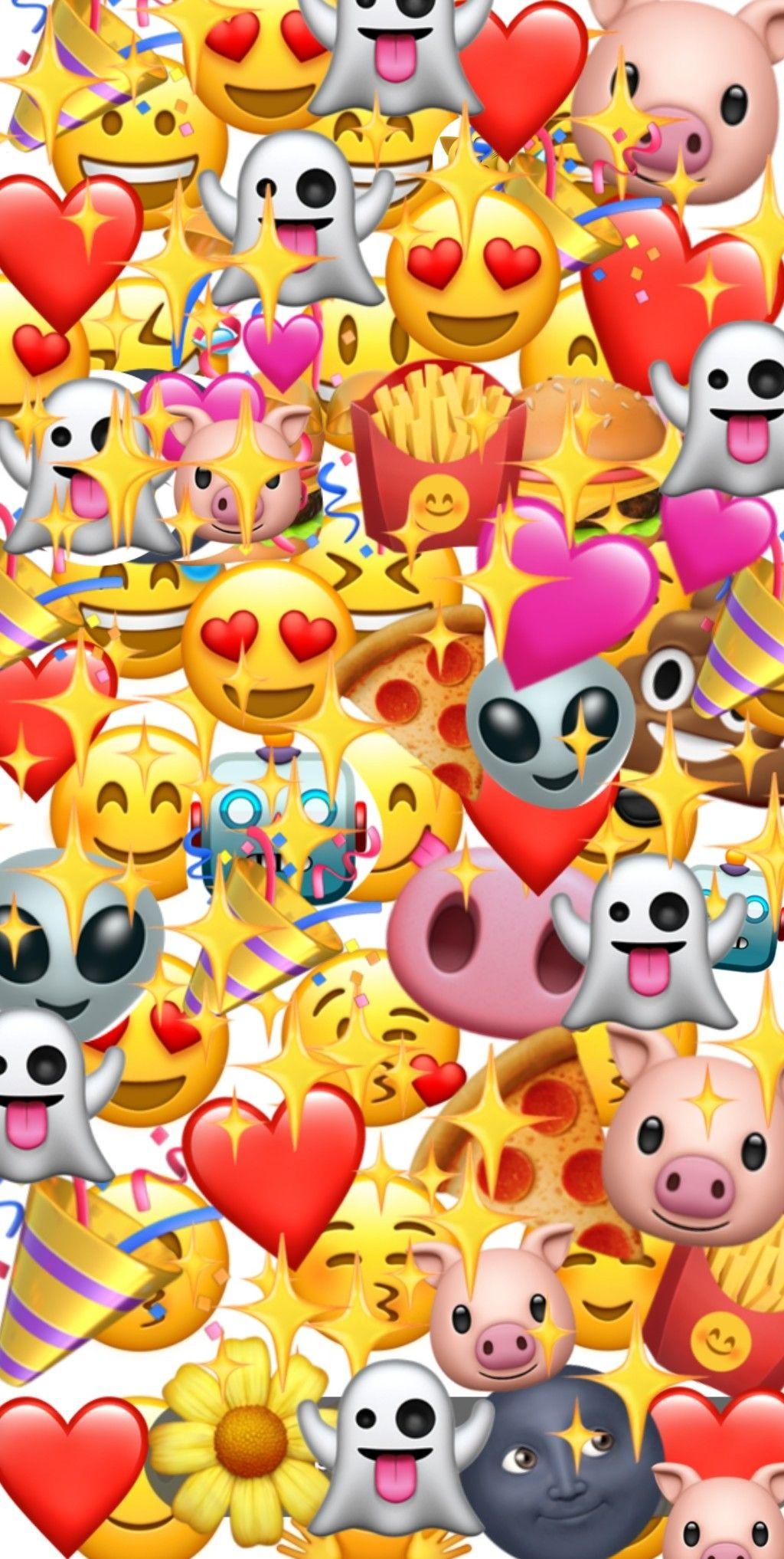 Fondo de emojis | Emoji wallpaper, Emoji backgrounds