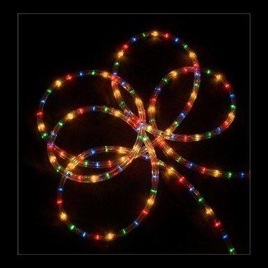 18-foot Clear Tube Light - Multi Lights #2T412211 Christmas store