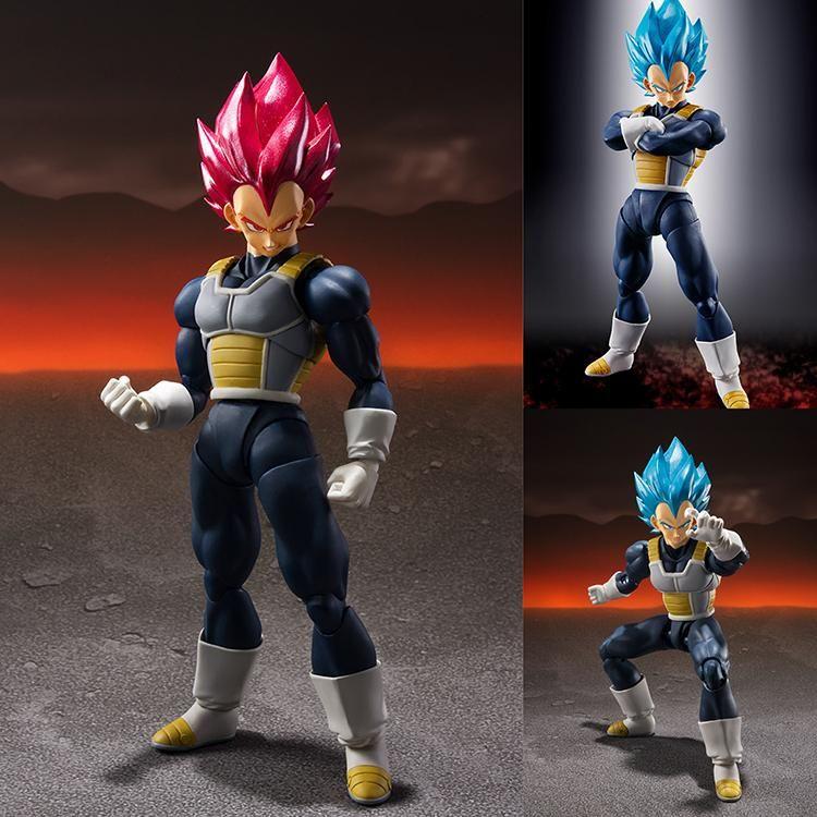 Dragon Ball Super Broly Figuarts Super Saiyan God Vegeta Figure Bandai S.H