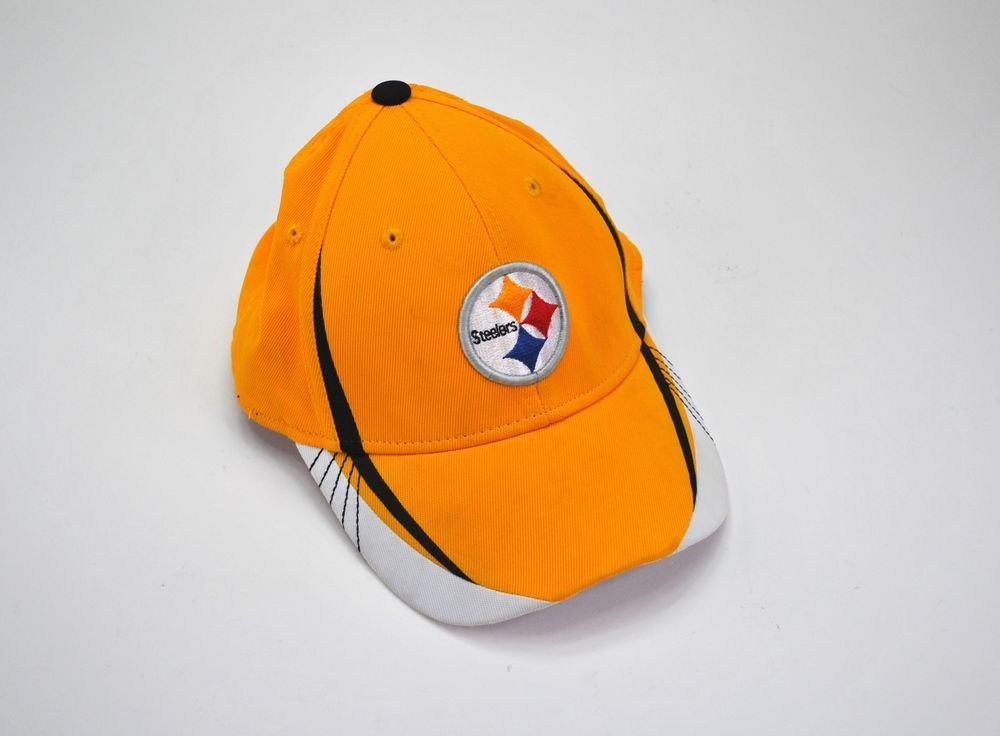 05c6a2ea200 Pittsburgh Steelers Hat Reebok On Field Equipment Cap FITMAX 70 Gold Small  NFL  Reebok  PittsburghSteelers