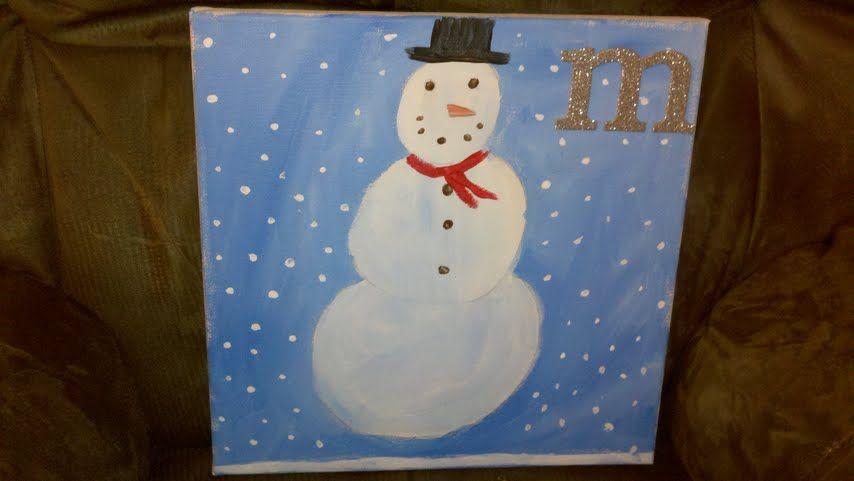 Madysen's snowman