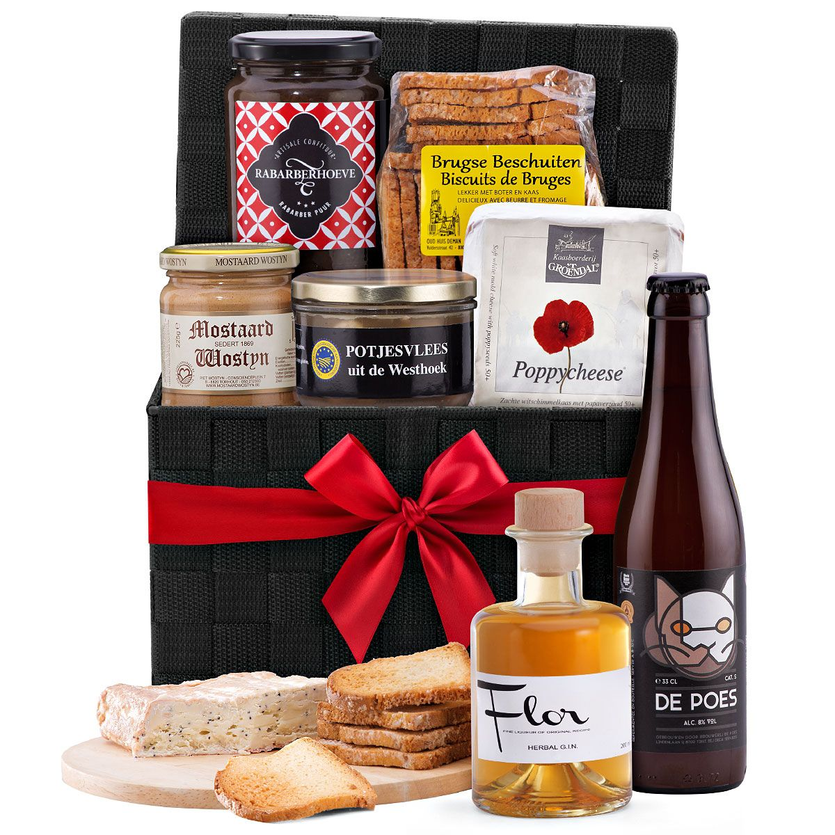 100 Belgian Appetizer With Beer Flor Herbal G I N Get Well Gift Baskets Fathers Day Gift Basket Food Gift Baskets