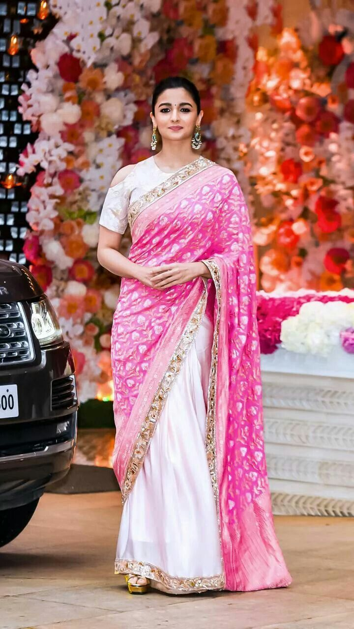 Alia Bhatt Looks Like An Epitome of Indian Grace In This
