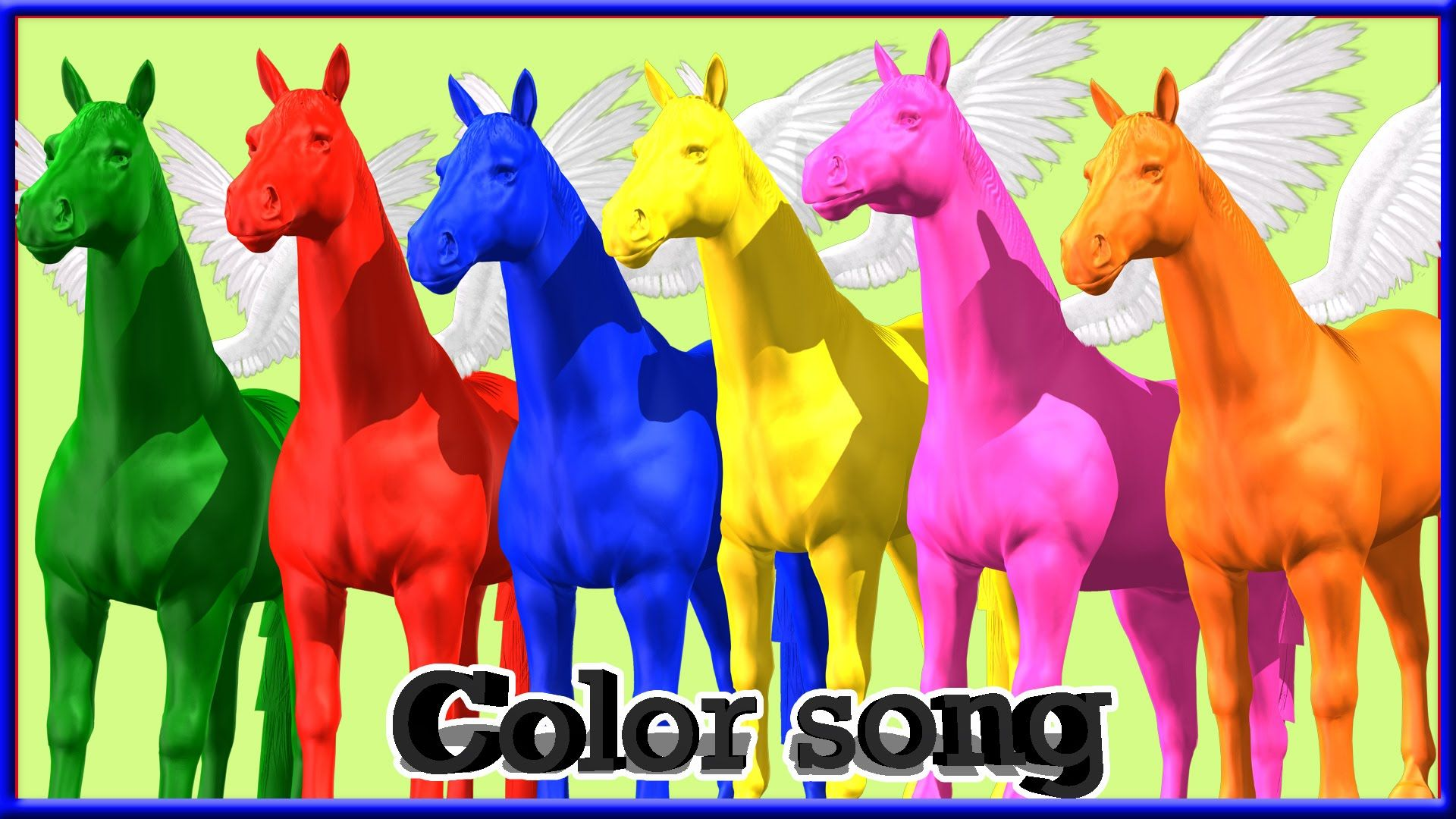 Learn Colors Song Learn Colors With Dinosaur Amp Flying