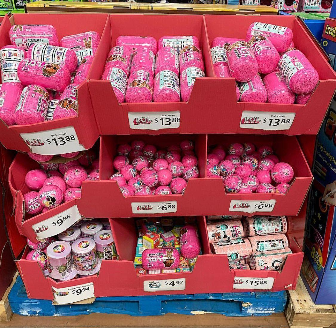 Lol Surprise Dolls At Walmart Lol Dolls Diy Jar Crafts Birthday Surprise Party