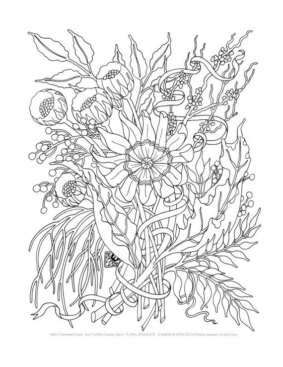 - Complicated Coloring Pages For Adults - Bing Images Printable Flower Coloring  Pages, Coloring Pages, Flower Coloring Pages
