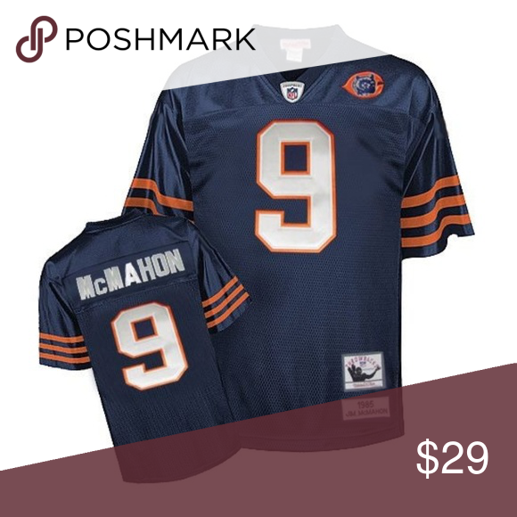 new concept 11a91 060a2 Mitchell & Ness Jim McMahon Bears Throwback Jersey Mitchell ...