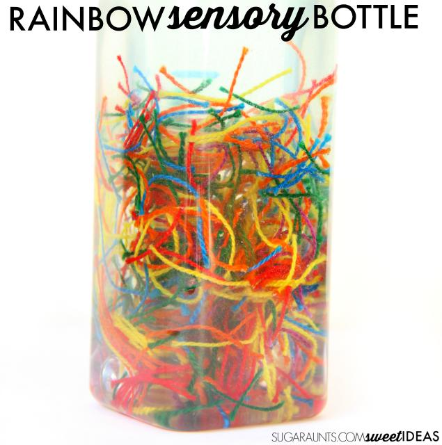 Rainbow Friendship Sensory Calming Bottle