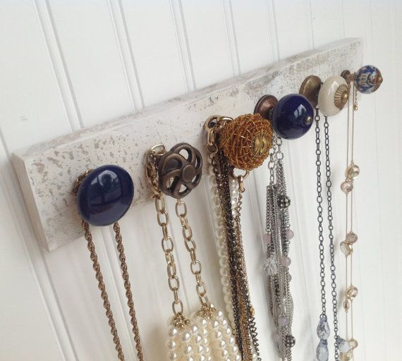 Wall Hanging Necklace Rack Jewelry Organizer