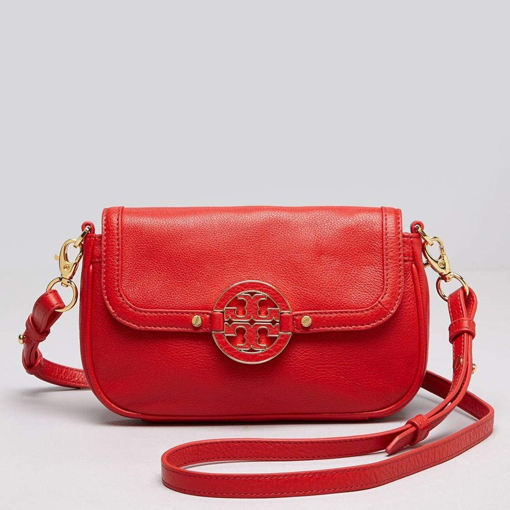 c3137e67eaa Tory Burch Red Amanda Cross Body Mint Condition
