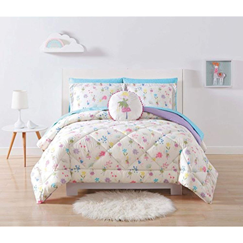 Laura Hart Kids Comforter Set Twin Twin Xl Garden Fairies Be