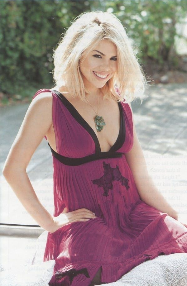 The Most Beautiful British Women | Billie piper penny