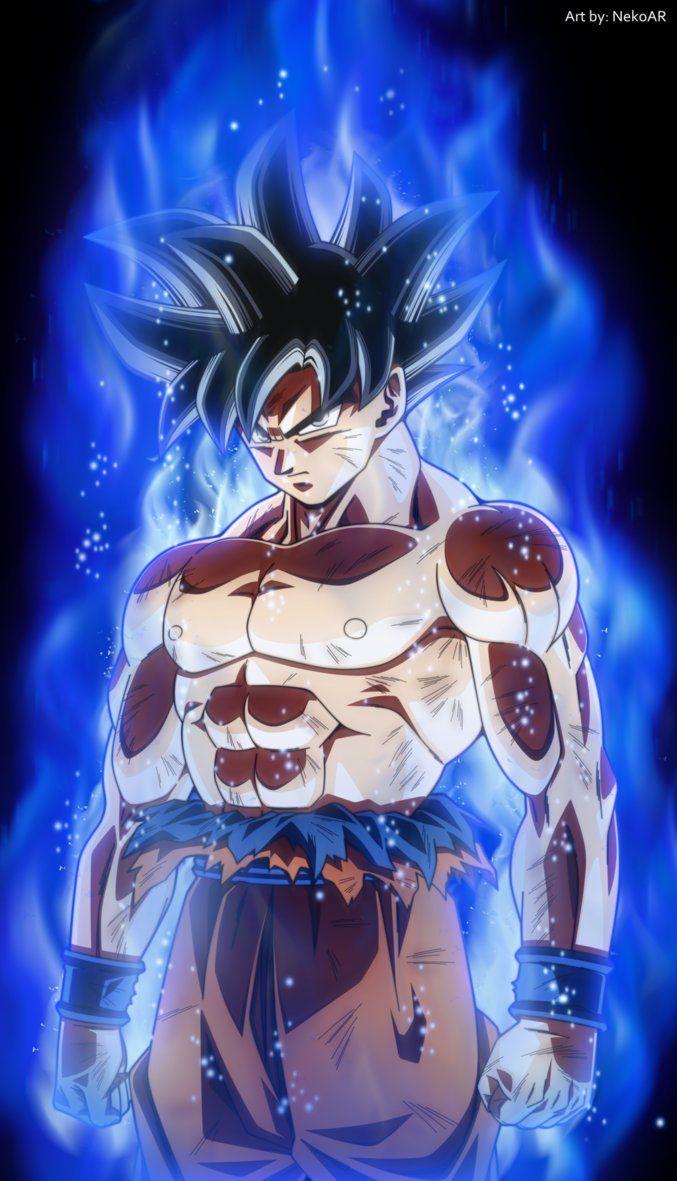 Limit Breaker Goku Now In Blue Lolololol By Nekoar Dragon Ball Z Wallpaper Do Goku Anime