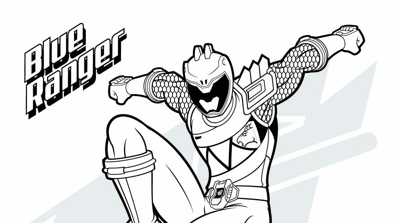 free power ranger coloring pages - photo#48