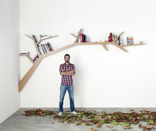 Google Image Result for http://www.captivatist.com/funky-storage-solutions-tree-branch-shelves-3.jpg    Home   Pinterest   Shelves, Storage and Tree book ...