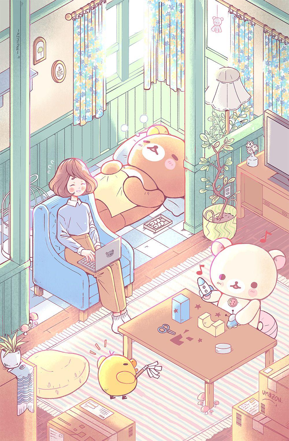 Sumikko Gurashi Characters Cute Japanese Animated Animal Food Characters San X Cute Cartoon Wallpapers Cute Wallpapers Cute Drawings