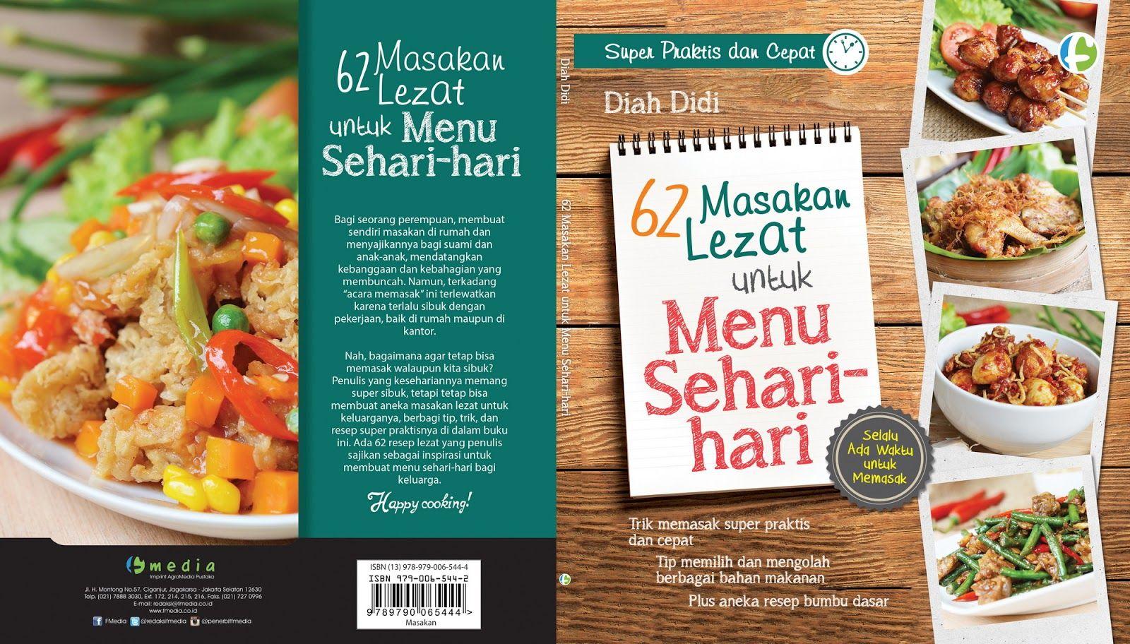 Pengumuman Pemenang Undian Buku Resep 62 Resep Masakan Lezat Untuk Menu Sehari Hari Resep Masakan Masakan Makanan