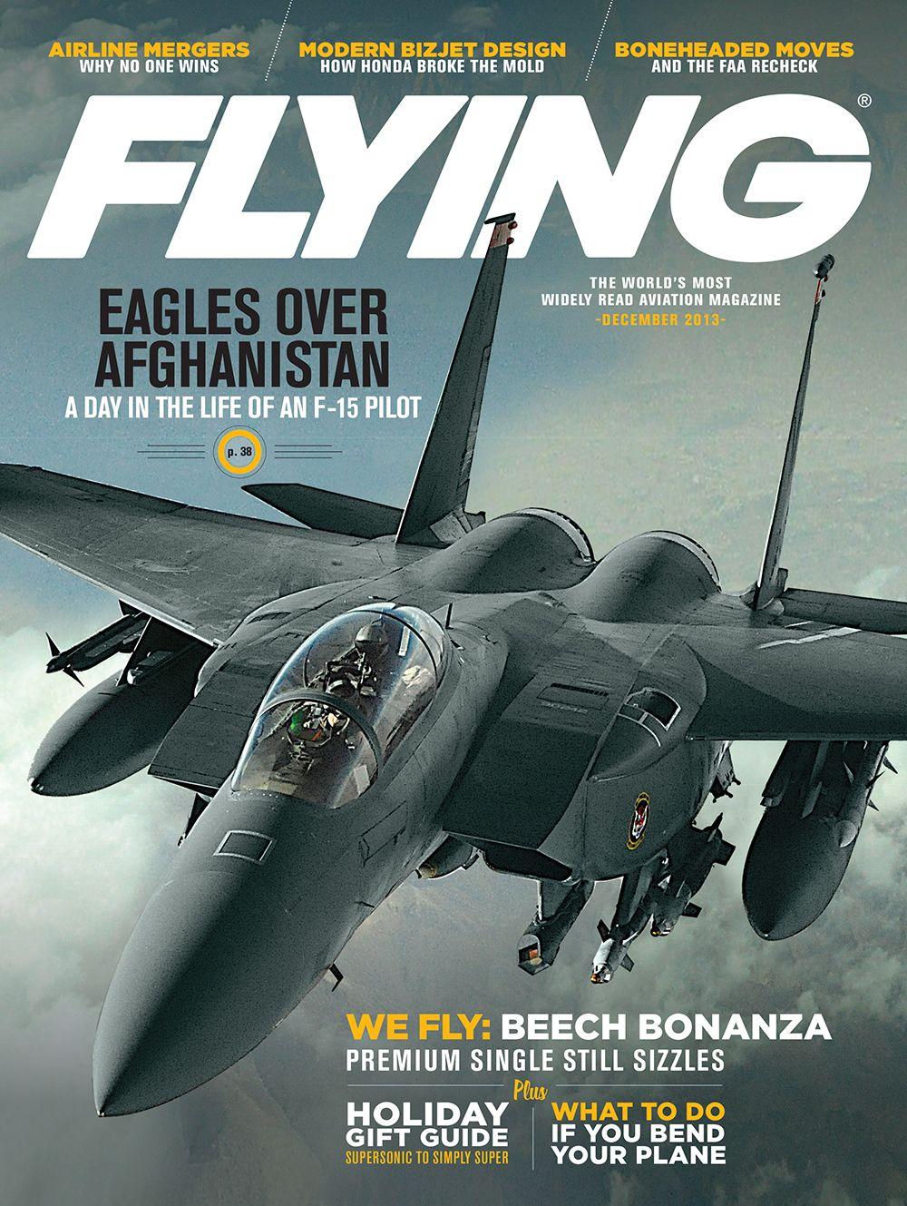 December 2013 Flying magazine, Aviation magazine, Magazine