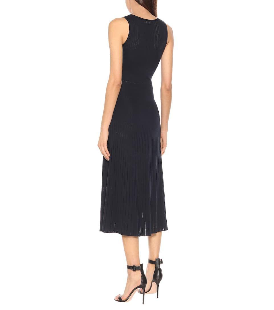 Tangery Silk And Cotton Midi Dress Cotton Midi Dress Dresses Midi Dress [ 1088 x 962 Pixel ]