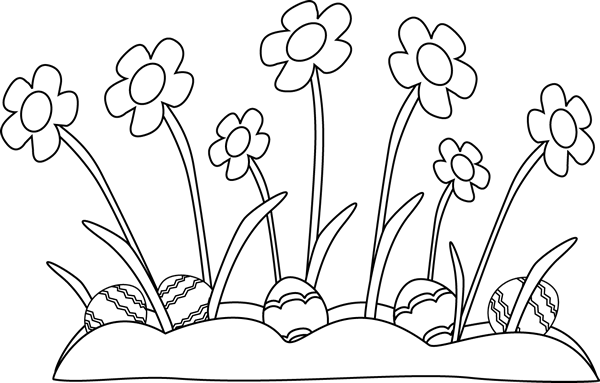 Easter Egg Clipart Black And White Wallpaper Easter Day