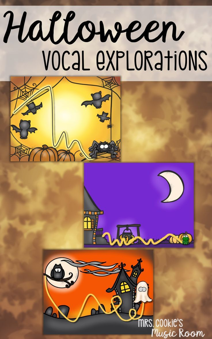 Vocal Explorations for Halloween Vocal exploration